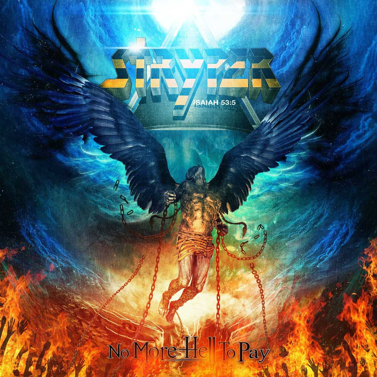 The covering by stryper on apple music.